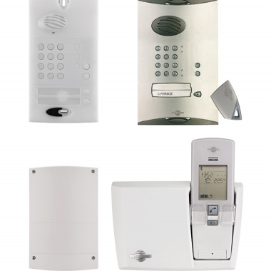 For my home /		Doorphones	 / 1-dwelling wireless remote entry control systems with keypad